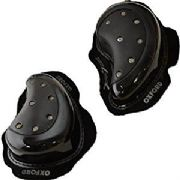 Oxford Rok Drop Sparkie Knee Sliders Black OF272